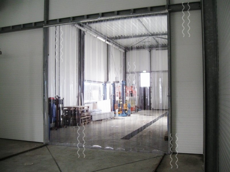 strip white strisce bianca curtain industrial a strips tenda curtains doors pvc products